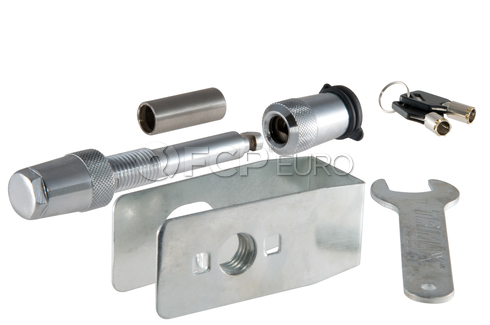"""Hitch Lock w/Anti-Rattle 5/8"""" Dia. (Stainless) - CURT-23590"""