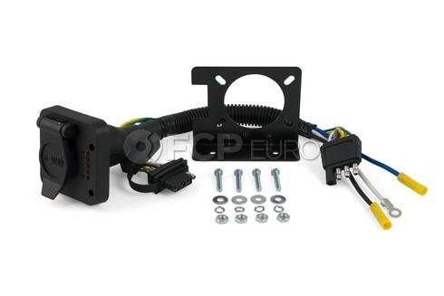 Duplex Electrical Adapter (Plastic) - CURT-57624