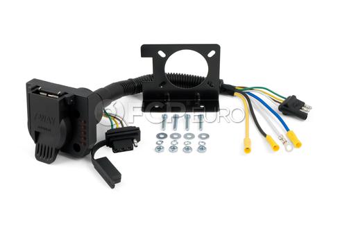 Duplex Electrical Adapter (Plastic) - CURT-57674