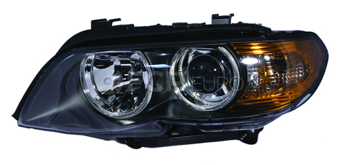 BMW Headlight Assembly Left (X5 E53) - Genuine BMW 63127164443