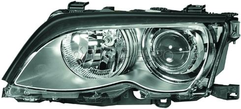 BMW Headlight Assembly Xenon Left (330i 330xi) - Hella 63128377265