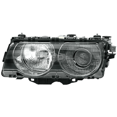 BMW Headlight Assembly Xenon Left (740i 740iL 750iL) - Hella 63128386957