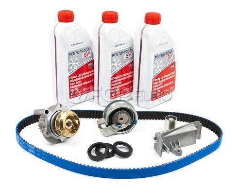 Audi VW Volkswagen Timing Belt Kit with Coolant - OEM Parts TBKIT908OEMG12RB