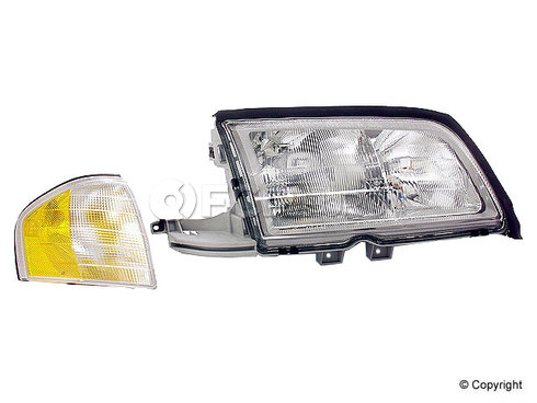 Mercedes Headlight Assembly Right (C230 C280 C36 C43) - Hella 2028202861