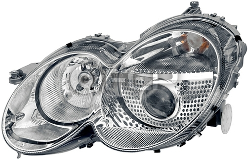Mercedes Headlight Assembly Right - Hella 2308200659