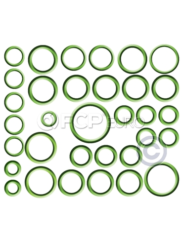 BMW A/C System O-Ring and Gasket Kit - Omega 91-MT2640