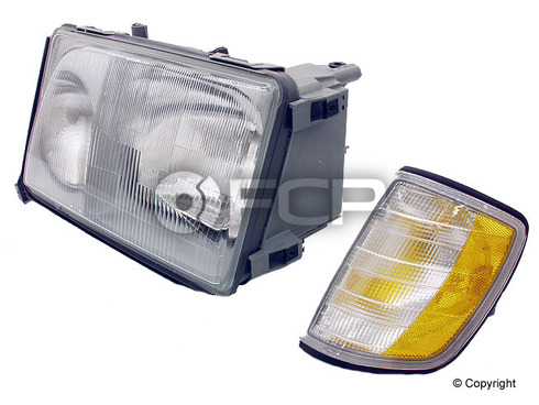 Mercedes Headlight Assembly Left (E300 E320 E420) - Hella 1248208959