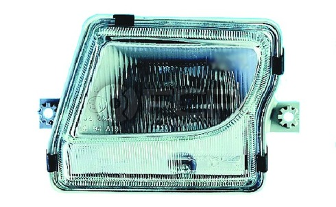 Mercedes Fog Light Assembly Right (SL320 SL500 SL600) - Hella 1298201256