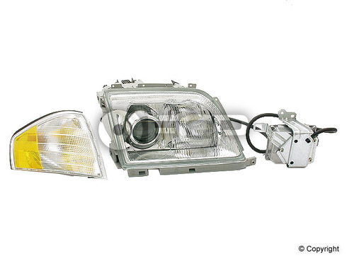 Mercedes Headlight Assembly Right (SL320 SL500 SL600) - Hella 1298208861