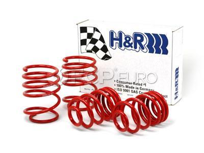 BMW Lowering Springs (E46 w/Sport Suspension) - H&R Sport 29484
