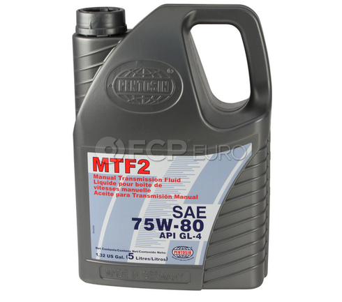 Pentosin 75W80 MTF2 Gear Oil (5 Liters) - 8056206