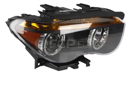 BMW Headlight Assembly w/o Adaptive Right (E65 E66) - Hella 63127165450
