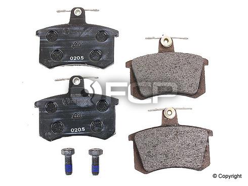 Audi Disc Brake Pad Set Rear - ATE D363A