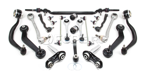 BMW Control Arm Kit 20-Piece (E38) - Lemforder E3820PIECE-L