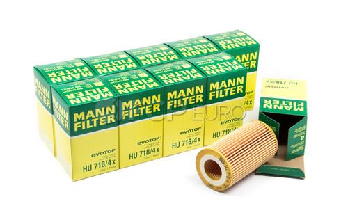 Mercedes Oil Filter Case (10 Filters) - Mann HU718/4X-10