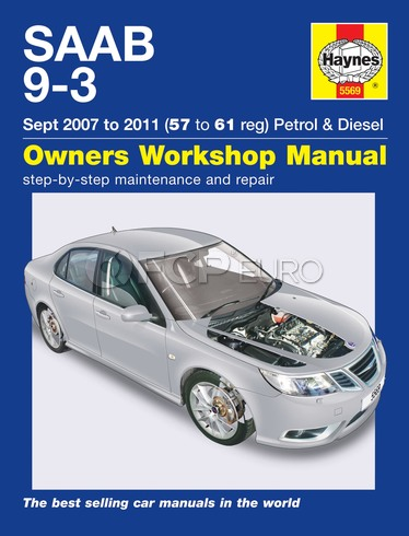 Saab Haynes Repair Manual (9-3) - Haynes HAY-5569