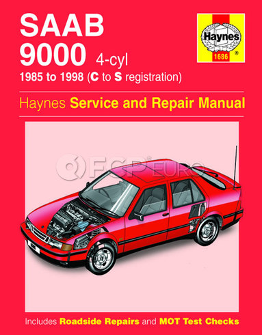 Saab Haynes Repair Manual (9000) - Haynes HAY-1686