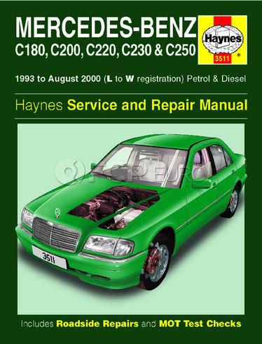 Mercedes Repair Manual (C220 C230) - Haynes HAY-3511