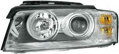 Audi Headlight Assembly Left (A8 Quattro) - Hella 4E0941029P