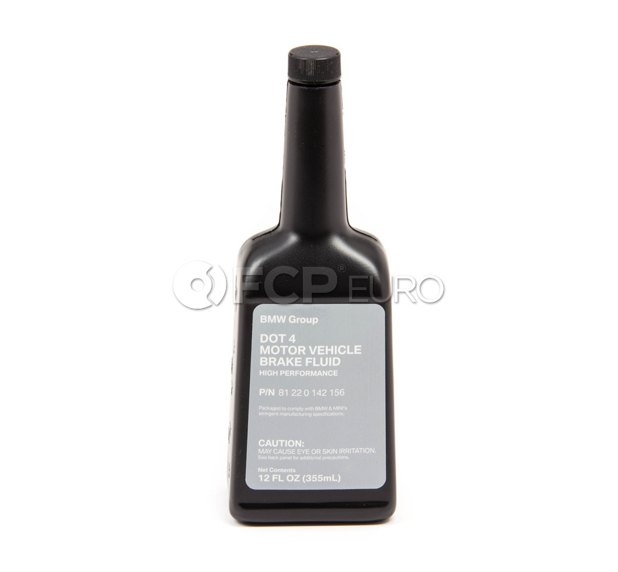DOT 4 Brake Fluid (12 fl oz) - Genuine BMW 81220142156