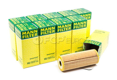 Mercedes Oil Filter Case (10 Filters) - Mann HU727/1X-10