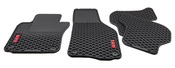 VW Floor Mat Set Rubber (GTI) - Genuine VW Audi 1K1061550041