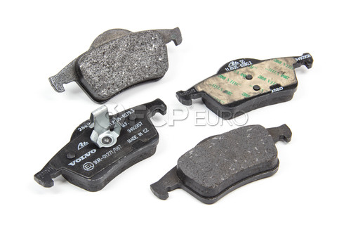 Volvo Brake Pad Set (S60 V70 XC70 S80) - Genuine Volvo 30648382
