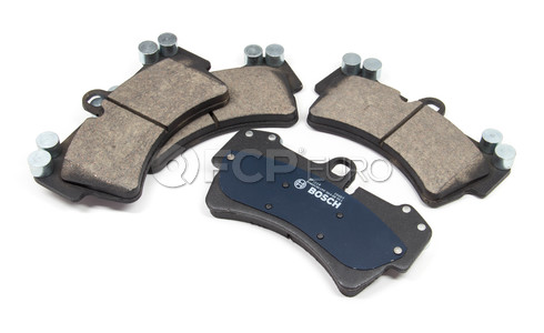 Audi VW Porsche Brake Pad Set - Bosch 95535193916