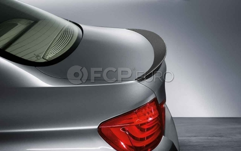 BMW M Performance Carbon Fiber Spoiler (F10) - Genuine BMW 51622163505