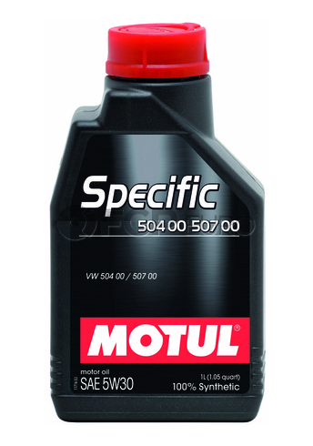 Motul Synthetic Engine Oil SPECIFIC 504 00-50 700 5W30 (1 Liter) - 018805
