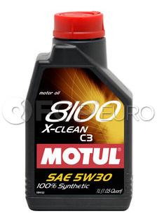 Motul Synthetic Engine Oil 8100 5W30 (1 Liter) - 102785