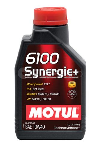 Motul 6100 Synergie+ 10W40 (1 Liter) - 102781