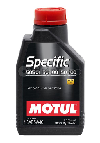 Motul Synthetic Engine Oil SPECIFIC 505 01-502 00-505 00 5W40 (1 Liter) - 101573