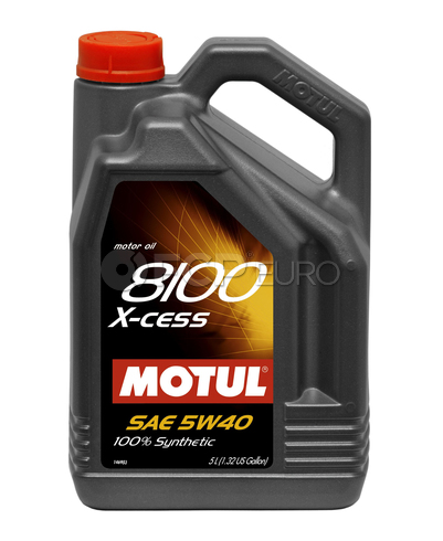 Motul Synthetic Engine Oil 8100 X-CESS 5W40 (5 Liter) - 102870