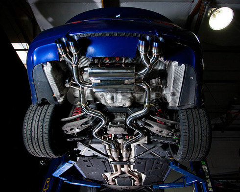 BMW Axleback Performance Exhaust System (E92 E93 M3) - Agency Power E92M3-170