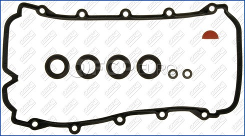 VW Audi Engine Valve Cover Gasket Set - AJUSA 077198025A