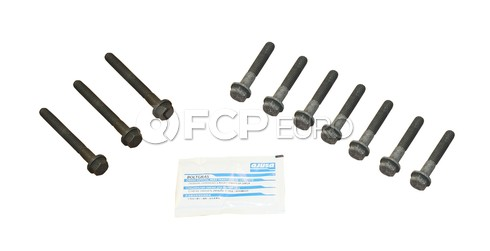 Land Rover Engine Cylinder Head Bolt Set (Range Rover Discovery Defender 90) - AJUSA 81047900