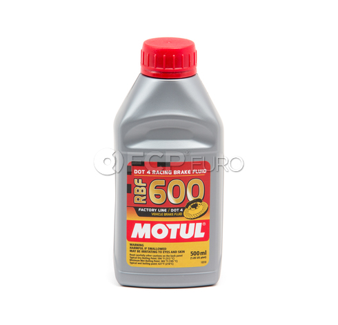 Motul Racing Brake Fluid 600 Brake Fluid (1/2 Liter) - 100949