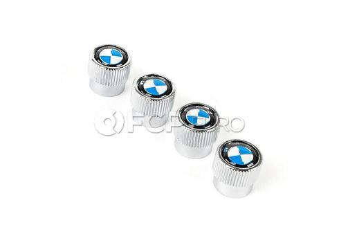 BMW Valve Stem Cap (Set of 4) - Genuine BMW 36110421544