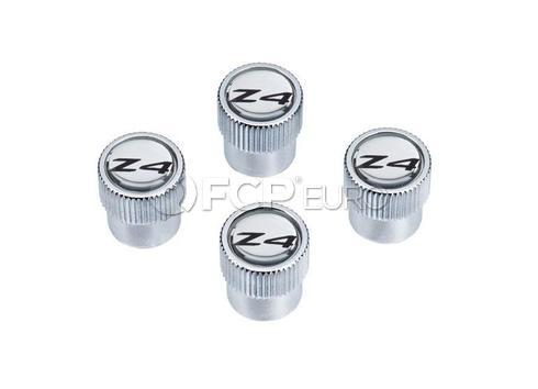 BMW Valve Stem Cap (Set of 4) - Genuine BMW 36110421545