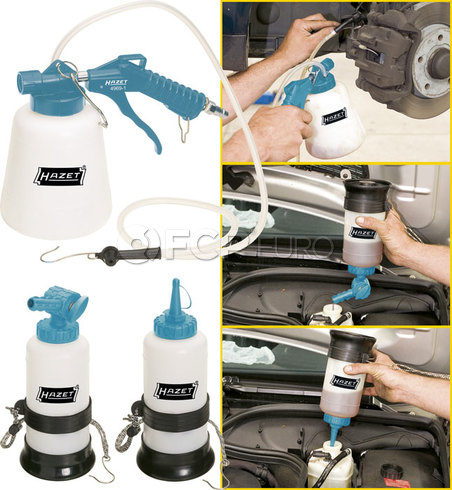 HAZET Brake Bleeder Kit (Pneumatic) - HAZET 4969-1/3