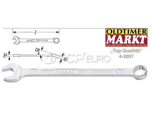 HAZET Combination Wrench (9mm) - HAZET 600N-9
