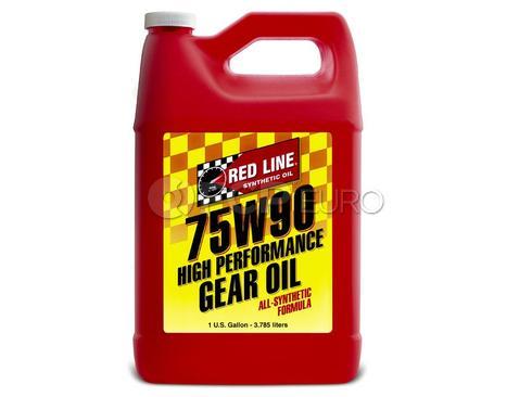 75W90 GL-5 Gear Oil (1 Gallon) - Red Line 57905