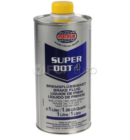 Pentosin Super DOT 4 Brake Fluid (1 Liter)  - Pentosin 1204116