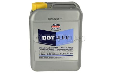 DOT 4 LV Brake Fluid (5 Liter)  - Pentosin 1224204