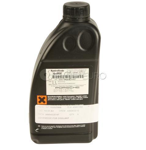 Porsche Coolant/Antifreeze (1 Liter) - Genuine Porsche 00004330515
