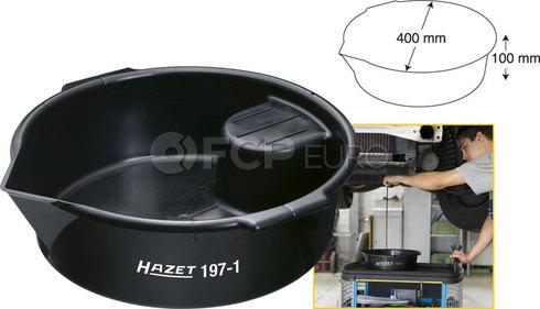 HAZET Multi-Purpose Drain Pan with Handles - HAZET 197-1