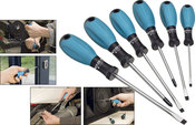HAZET Screwdriver Set (6-Piece) - HAZET 810SPC-6