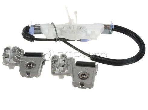 VW Window Regulator Kit Front Left (Jetta) - Genuine VW Audi 1JM898461B