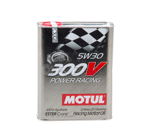 Motul 300V Power Racing 5W30 (2 Liter) -103128